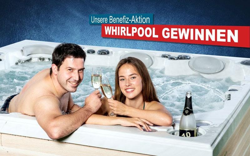 Benefizaktion: Spenden und Whirlpool gewinnen!