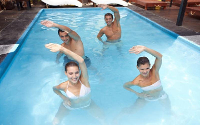 Wassersport besonders wirkungsvoll