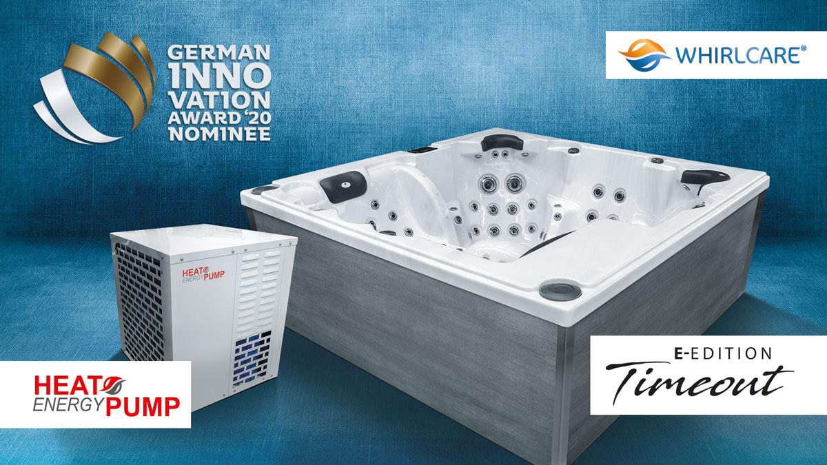 German Innovation Award 2020: Whirlcare gleich zweimal nominiert