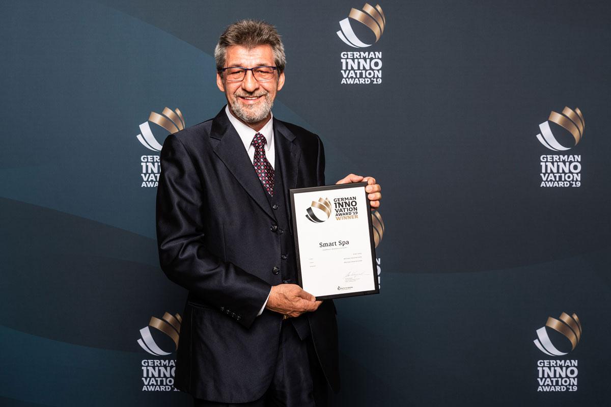 Winner Award für den Smart Spa von Whirlcare