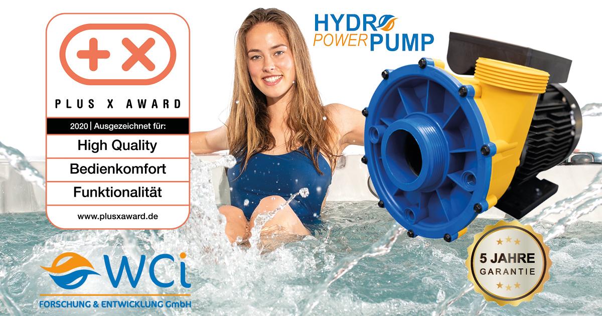 WCI Hydro Power Pumps überzeugen Jury