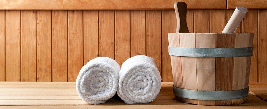 Sauna Zubehör noch und nöcher