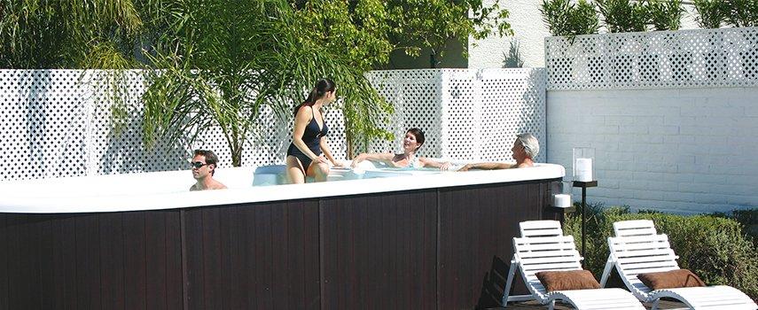 Ein Swim Spa bietet unendliche Freiheiten
