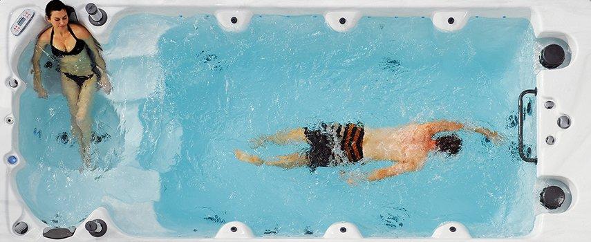 Mit einem Swim Spa Entspannung & Spaß erleben