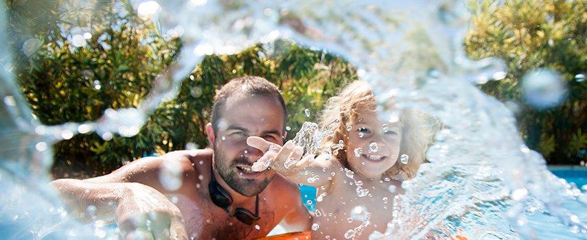 Swim Spa Wasserpflege für gesunden Badespaß