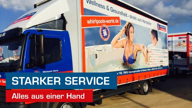 Whirlpools World: Starke Marke – starker Service