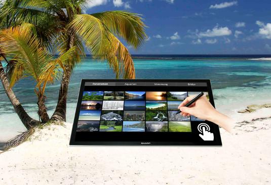 Visuelle Entspannung durch hochauflösende Monitore
