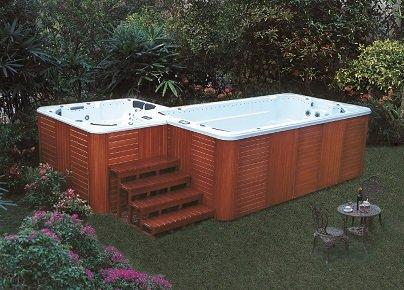 Swim Spa Alpha Spas Lux Garten