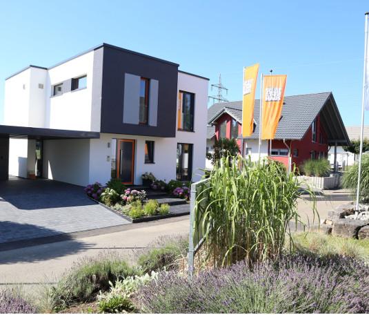 Whirlpools World in der Ausstellung Eigenheim und Garten